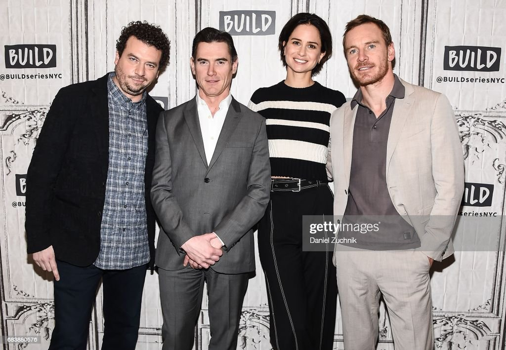 """Build Presents Michael Fassbender, Katherine Waterston, Jussie Smollett, Danny McBride and Billy Crudup Discussing """"Alien: Covenant"""" : News Photo"""
