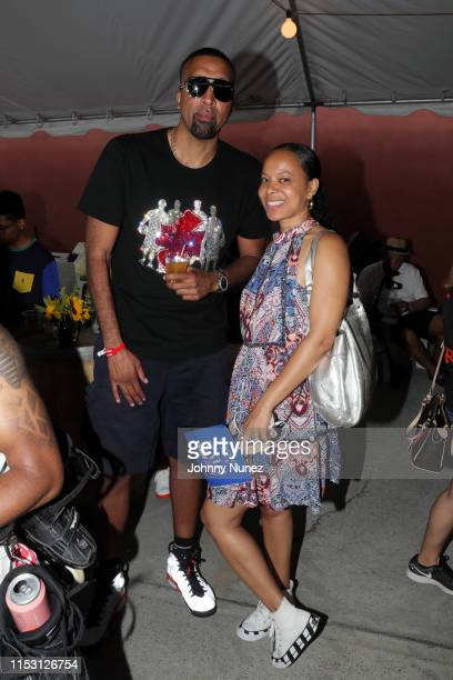 Danny Reyes and Lisa Lindo attend the 30th Anniversary Do The Right Thing Block Party on June 30 2019 in Brooklyn New York