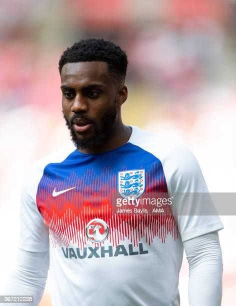 Danny Rose of England before the International Friendly between England and Nigeria at Wembley Stadium on June 2 2018 in London England