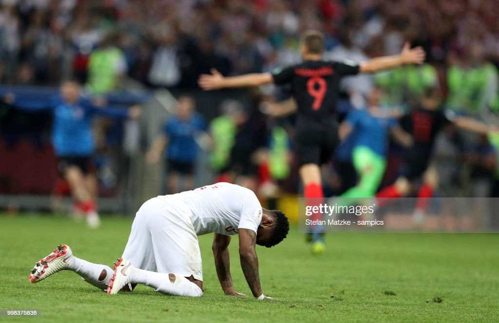 England v Croatia: Semi Final - 2018 FIFA World Cup Russia : ニュース写真