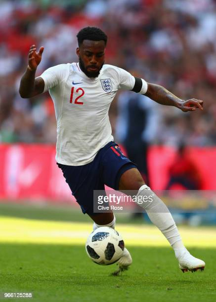 Danny Rose of England during the International Friendly between England and Nigeria at Wembley Stadium on June 2 2018 in London England