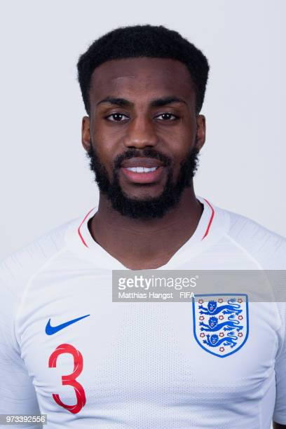 Danny Rose of England poses for a portrait during the official FIFA World Cup 2018 portrait session at on June 13 2018 in Saint Petersburg Russia