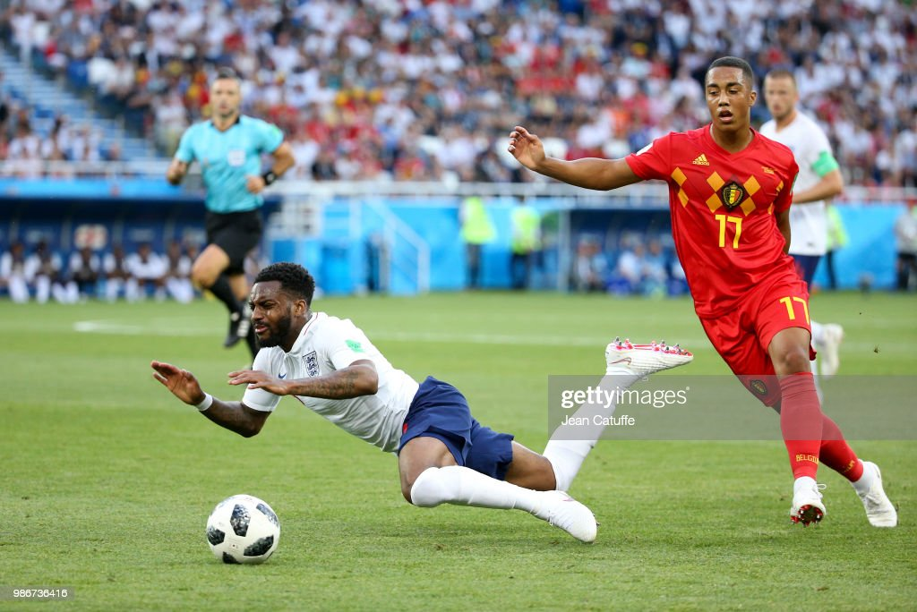 England v Belgium: Group G - 2018 FIFA World Cup Russia : News Photo