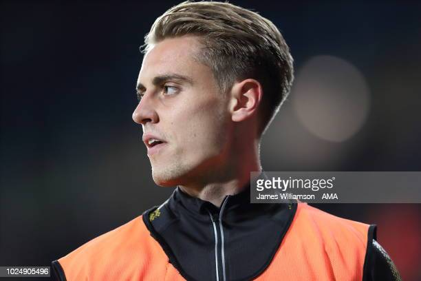 Danny Rose of Mansfield Town during the Carabao Cup Second Round match between West Bromwich Albion and Mansfield Town at The Hawthorns on August 28...