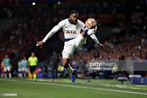 Danny Rose of Tottenham Hotspur controls the ball during the UEFA Champions League Final between Tottenham Hotspur and Liverpool at Estadio Wanda...
