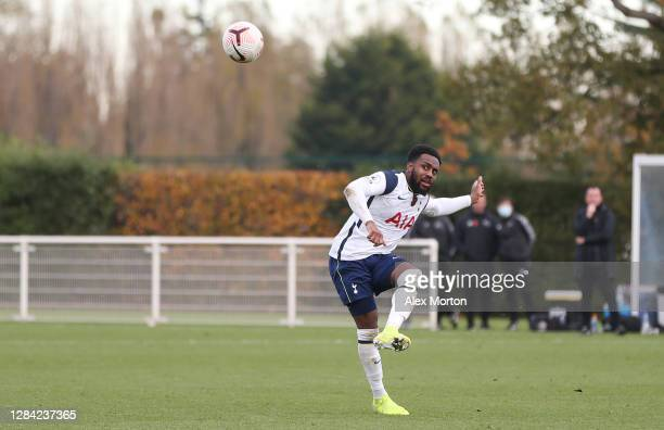 Danny Rose of Tottenham Hotspur during the PL2 match between Tottenham Hotspur and Derby County at Tottenham Hotspur Training Centre on November 06,...