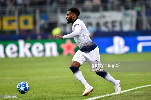 Danny Rose of Tottenham Hotspur during the UEFA Champions League Group B match between Inter Milan and Tottenham Hotspur at Stadio San Siro Milan...