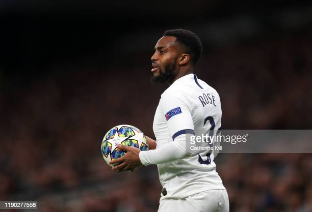 Danny Rose of Tottenham Hotspur during the UEFA Champions League group B match between Tottenham Hotspur and Olympiacos FC at Tottenham Hotspur...