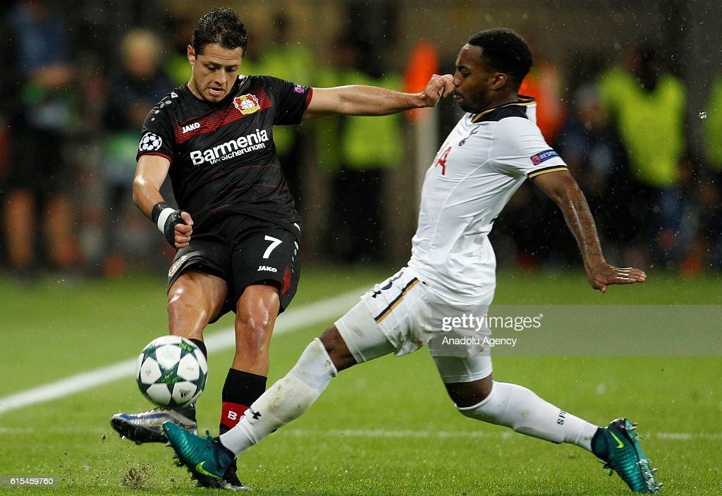 Bayer Leverkusen v Tottenham Hotspur - UEFA Champions League : News Photo