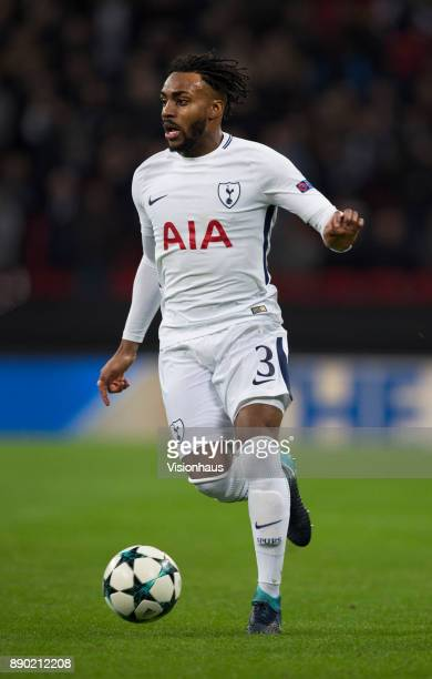 Danny Rose of Tottenham Hotspur in action during the UEFA Champions League group H match between Tottenham Hotspur and APOEL Nikosia at Wembley...