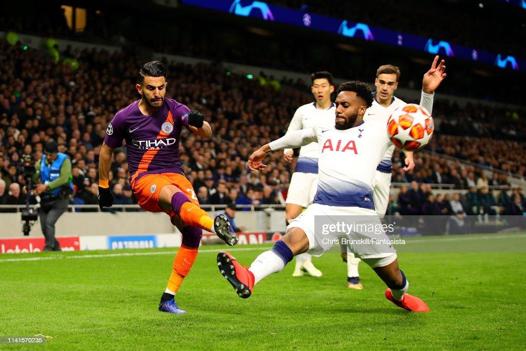 Tottenham Hotspur and Manchester City - UEFA Champions League Quarter Final: First Leg : News Photo