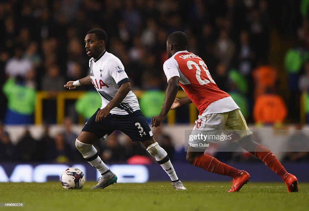 Tottenham Hotspur v Arsenal - Capital One Cup Third Round : Nachrichtenfoto
