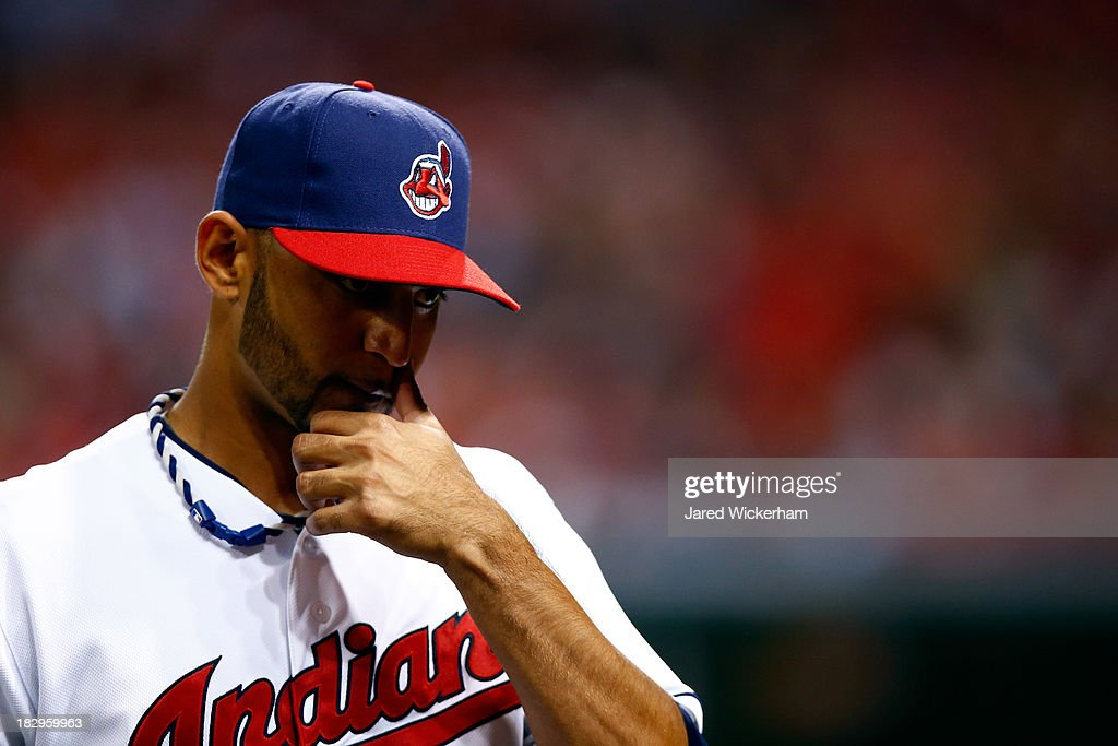 Wild Card Game - Tampa Bay Rays v Cleveland Indians : News Photo