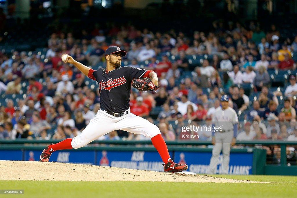 Texas Rangers v Cleveland Indians : News Photo