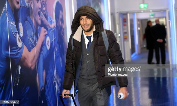 Danny Simpson ahead of the Premier League match between Leicester City and Crystal Palace at King Power Stadium on December 16th 2017 in Leicester...