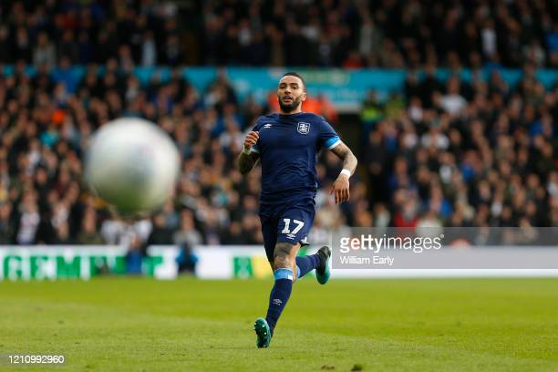 Danny Simpson of Huddersfield Town during the Sky Bet Championship match between Leeds United and Huddersfield Town at Elland Road on March 07 2020...