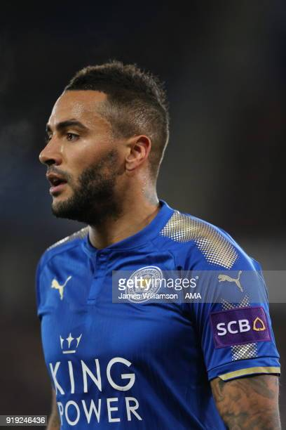 Danny Simpson of Leicester City during the Emirates FA Cup Fifth Round match between Leicester City and Sheffield United at The King Power Stadium on...