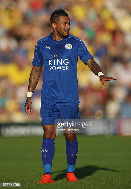 Danny Simpson of Leicester City during the preseason friendly between Oxford United and Leicester City at Kassam Stadium on July 19 2016 in Oxford...