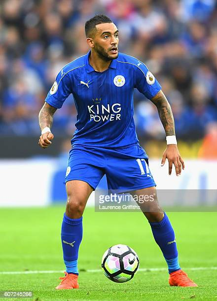 Danny Simpson of Leicester City in action during the Premier League match between Leicester City and Burnley at The King Power Stadium on September...