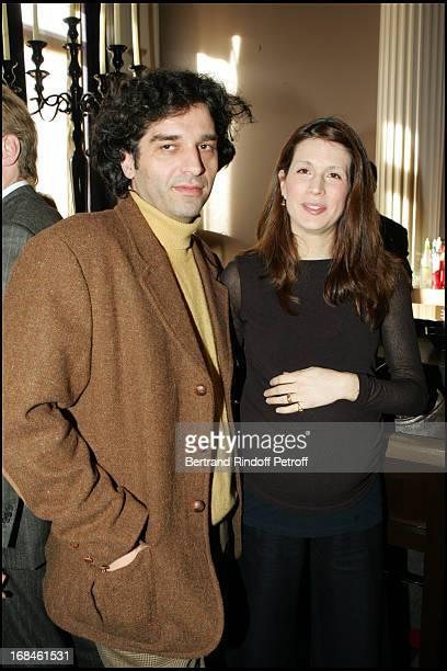 Danny Tanovic and wife Maelys at 'Les Trois Coups De L'Angelus' At Apicius Restaurant