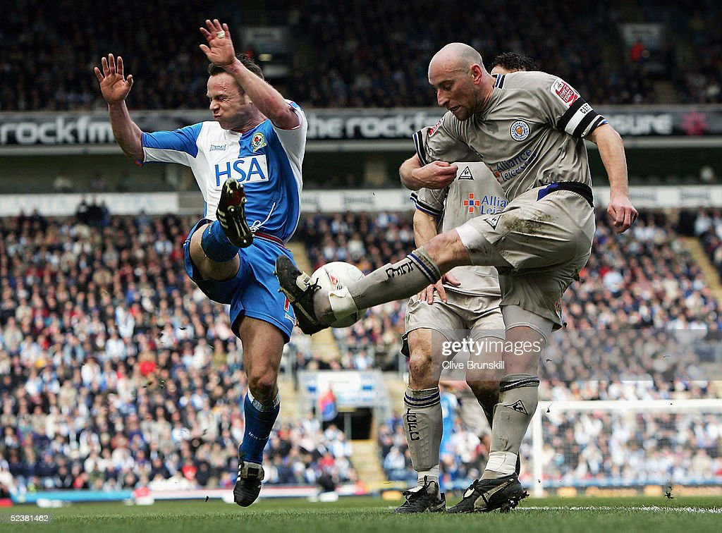 Blackburn Rovers v Leicester City : News Photo