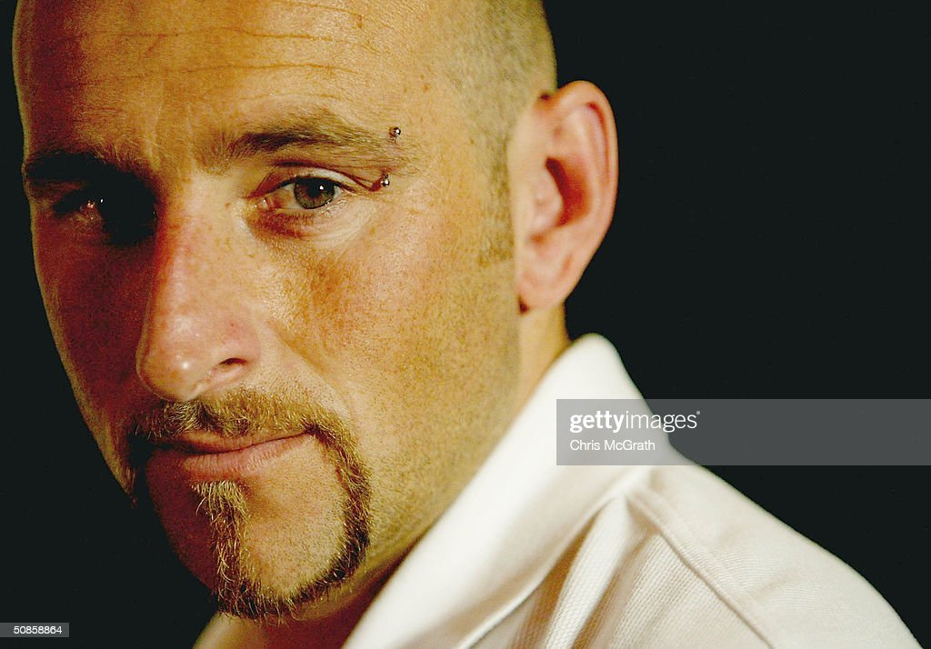 Danny Tiatto of the Socceroos poses for a portrait during the official welcoming ceremony for the Turkish soccer team held at the Sydney Opera House, May 20, 2004 in Sydney Australia.