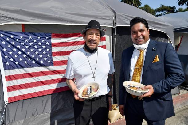 CA: Danny Trejo And Trejos Tacos Partner With The Everest Foundation And The Westside Veteran Administration To Assist Homeless U.S. Veterans