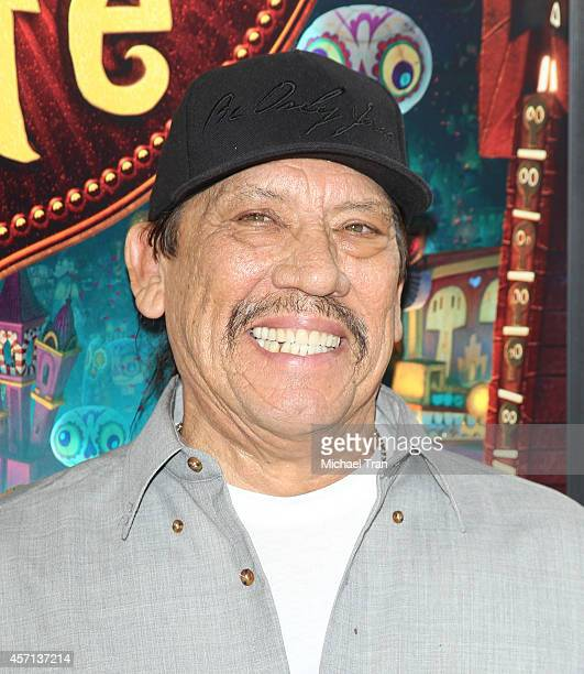 "Danny Trejo arrives at the Los Angeles premiere of ""Book Of Life"" held at Regal Cinemas L.A. Live on October 12, 2014 in Los Angeles, California."