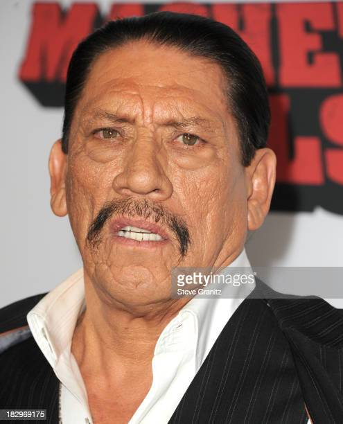 "Danny Trejo arrives at the ""Machete Kills"" - Los Angeles Premiere at Regal Cinemas L.A. Live on October 2, 2013 in Los Angeles, California."