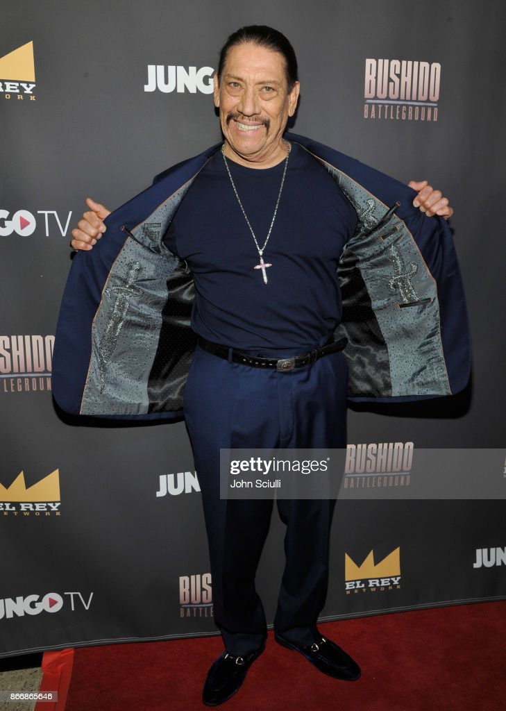 Danny Trejo attends Bushido Battleground Fight Night at Exchange LA on October 26, 2017 in Los Angeles, California.