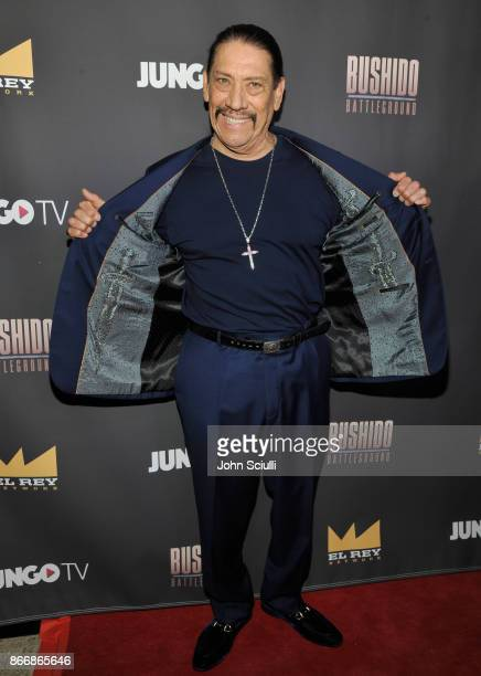 Danny Trejo attends Bushido Battleground Fight Night at Exchange LA on October 26 2017 in Los Angeles California