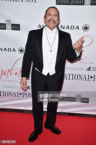Danny Trejo attends the 2015 Toronto International Film Festival 'AMBI Gala' at the Four Seasons Hotel on September 9th 2015 in Toronto Canada