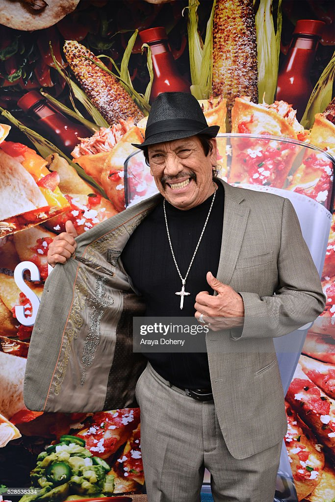 Danny Trejo attends the Cinco De Mayo tasting with Danny Trejo for the 'Spicy Loves Milk' campaign at Trejo's Tacos on May 05, 2016 in Los Angeles, California.