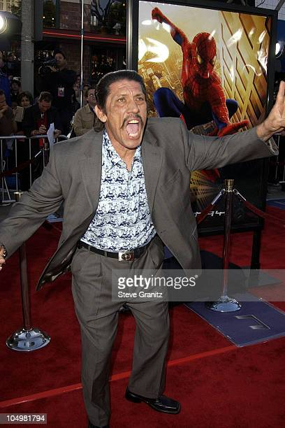 Danny Trejo during 'SpiderMan' Premiere at Mann Village in Westwood California United States