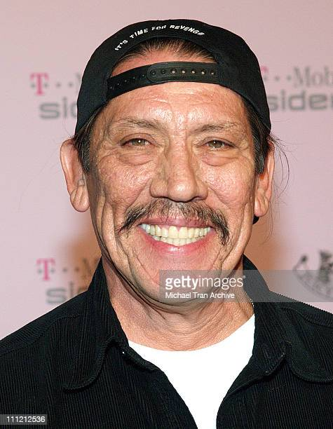 Danny Trejo during T-Mobile Limited Edition Sidekick II Launch - Arrivals at T-Mobile Sidekick II City in Los Angeles, California, United States.