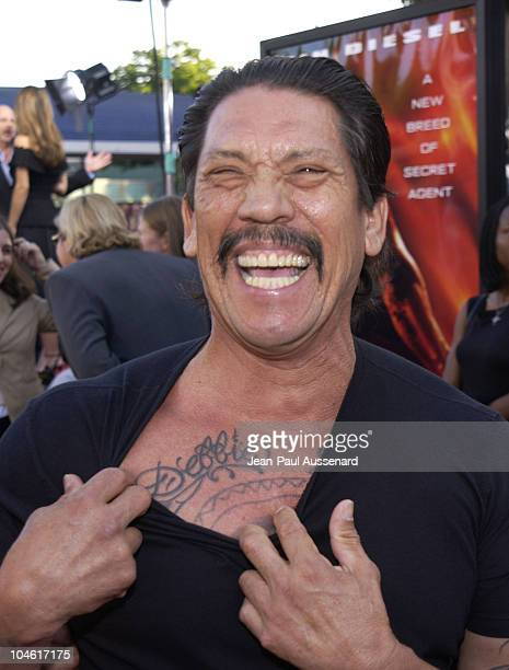 Danny Trejo during 'XXX' Premiere in Los Angeles at Mann's Village in Westwood California United States