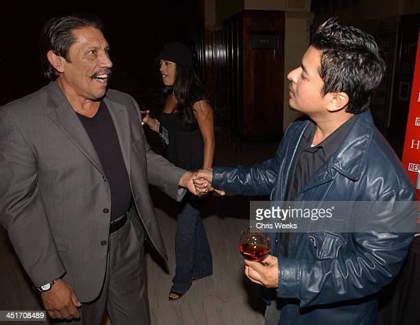 Danny Trejo Jacob Vargas during Resurrection Blvd Celebrates its 3rd Season Hosted by Hennessy Cognac with a $10000 Donation to AIDS Charity Las...