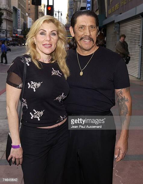Danny Trejo wife Debbie at the Orpheum Theatre in Los Angeles California