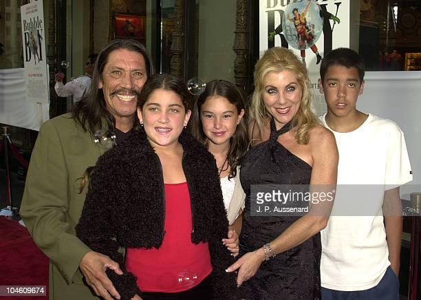 Danny Trejo wife Debbie daughters Rebecca Danielle son Gilbert