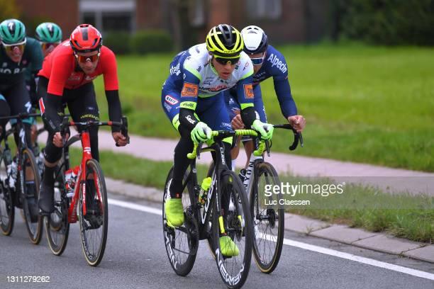 Danny Van Poppel of Netherlands and Team Intermarché - Wanty - Gobert Matériaux during the 109th Scheldeprijs 2021, Men's Elite a 194,2km race from...