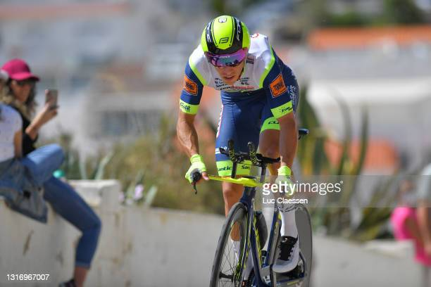 Danny Van Poppel of Netherlands and Team Intermarché - Wanty - Gobert Matériaux during the 47th Volta Ao Algarve 2021, Stage 4 a 20,3km Individual...