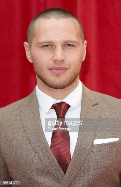 Danny Walters attends the British Soap Awards 2018 at Hackney Empire on June 2 2018 in London England