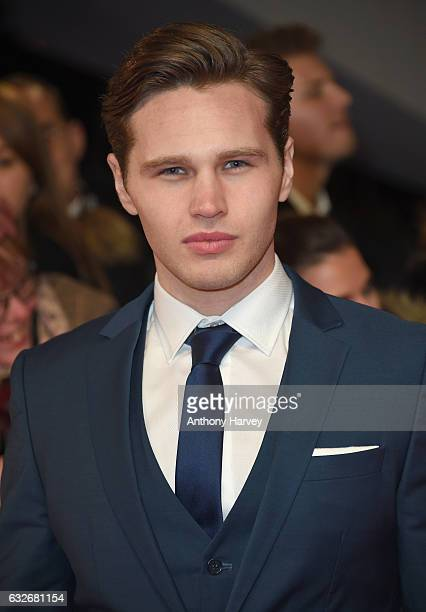Danny Walters attends the National Television Awards on January 25 2017 in London United Kingdom