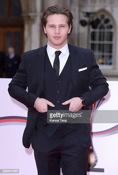 Danny Walters attends the Sun Military Awards at The Guildhall on January 22 2016 in London England