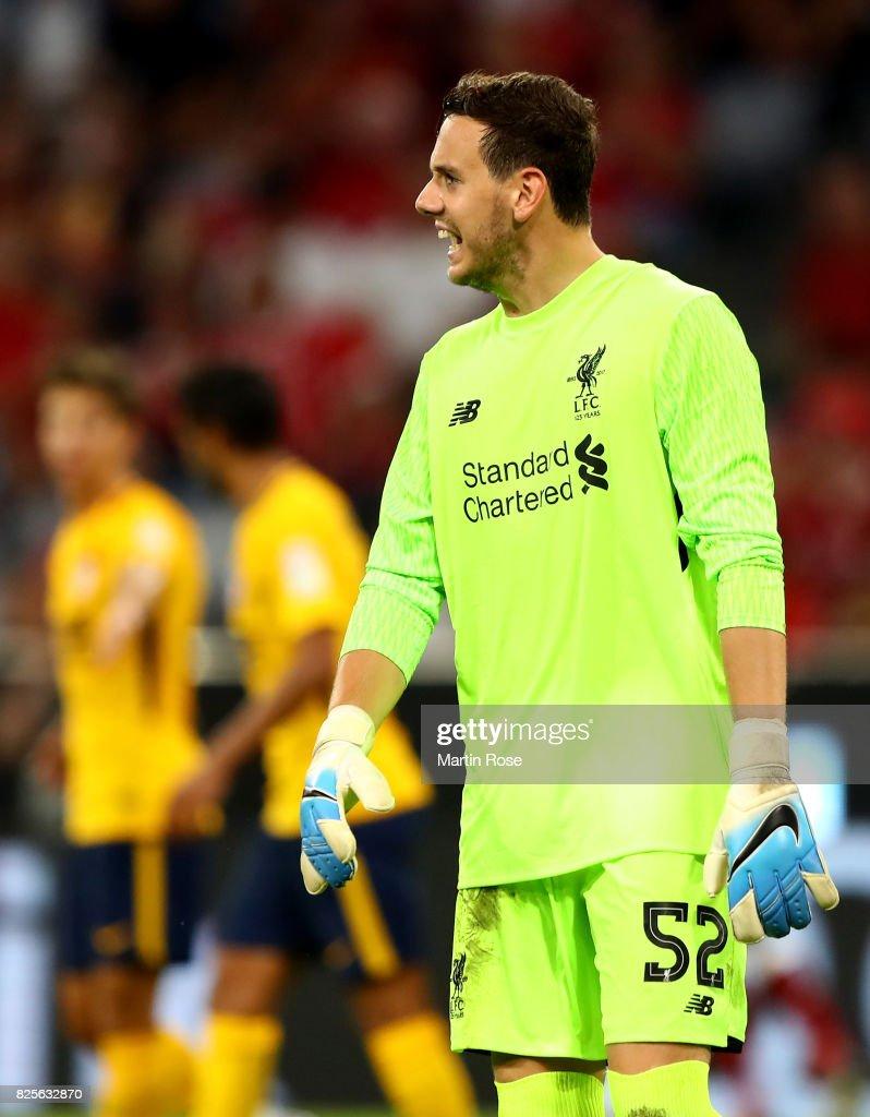 Liverpool FC v Atletico Madrid - Audi Cup 2017 : News Photo