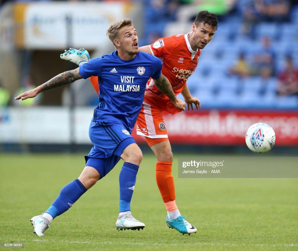 Shrewsbury Town v Cardiff City: Pre-Season Friendly