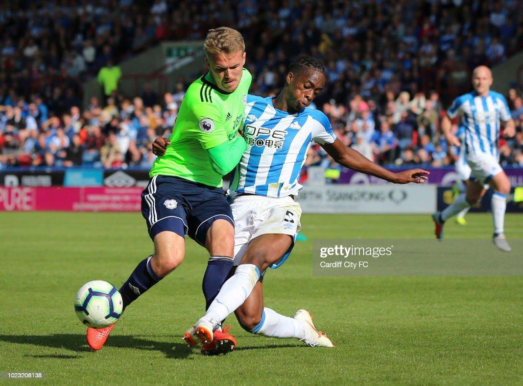 Huddersfield Town v Cardiff City - Premier League : News Photo