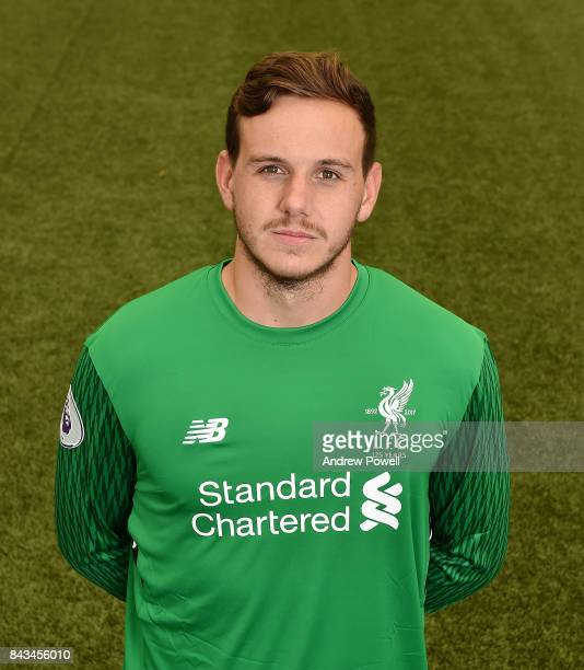 Danny Ward of Liverpool at Melwood Training Ground on September 1 2017 in Liverpool England