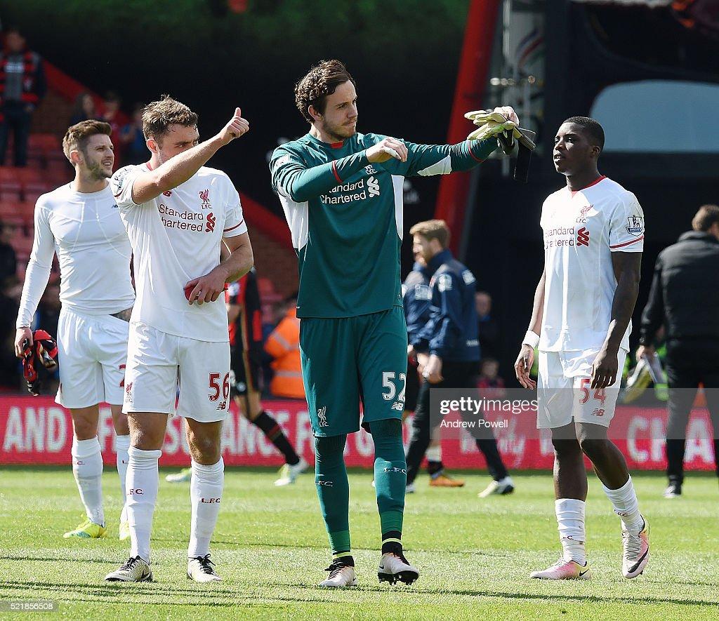 A.F.C. Bournemouth v Liverpool - Premier League