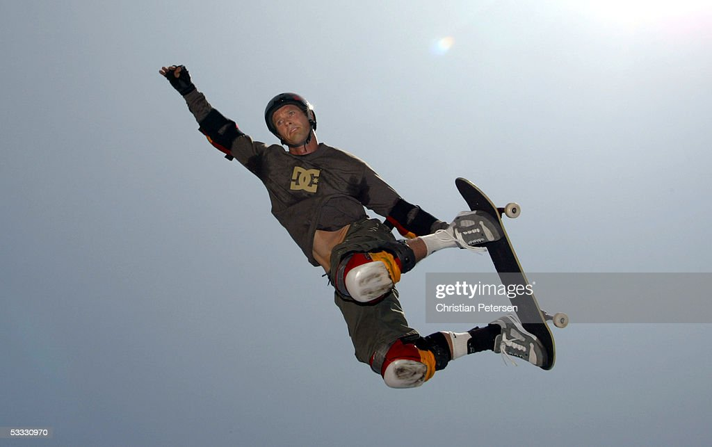 Danny Way Competes In The Men's Big Air Practice At The